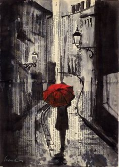 Романтика дождя | Артбук-мания
