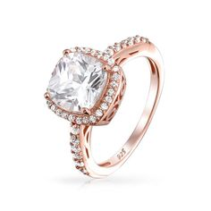 Pretty In Pink Ring #engagement