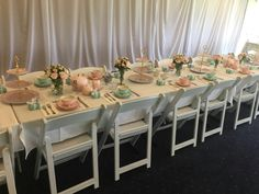 High Tea Tiffany's Bridal, Bridal Shower, Breakfast At Tiffanys, High Tea, Table Settings, Table Decorations, Furniture, Home Decor, Shower Party