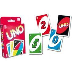 Carte da gioco UNO - mattel - mazzo da 108 carte