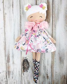 "249 Likes, 7 Comments - SpunCandy Dolls ~ Omaha, NE (@spuncandydolls) on Instagram: ""Oh, you lovely spring girl  #comingsoon #etherealspringcollection #spuncandydolls #handmadetoys…"""