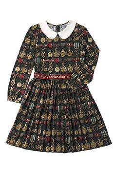 Royal Marple -  Royal Mini Dress