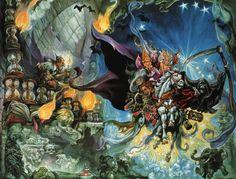 ryallsfiles: Terry Pratchett's Discworld art by...
