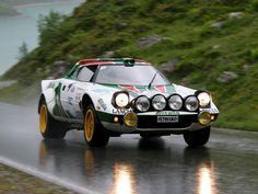 Lancia Stratos Gruppo 4 '1972–75 rally car