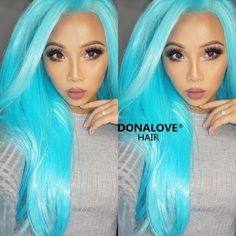 http://www.donalovehair.com/174-highlight-blue-waist-length-straight-synthetic-lace-wig-sny003.html