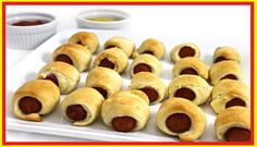weight watchers best recipes | Mini, Pigs In a Blanket (2 ingredients)  1 WW+ point each