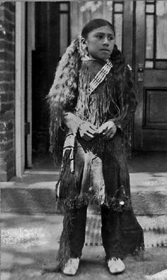 Rex Yellow Eyes, (the son of Yellow Eyes & Turning The Baby) - Southern Cheyenne - before his death in 1908