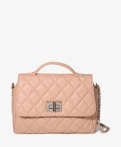 Quilted Chain Strap Satchel for $32.80