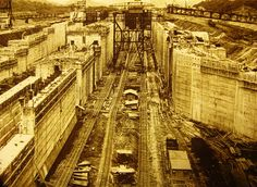 A look at the Construction of the Panama Canal