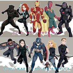 Guerra civil! #civilwar #captainamericacivilwar #avengers #avengersofbrasil #vingadores #heroes #marvel #captainamerica #ironman #chrisevans #robertdowneyjr #sebastianstan #scarlettjohansson #jeremyrenner #anthonymackie
