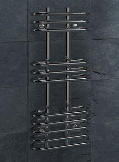 Kudox Designer Towel Rail Cordoba x Chrome Towel Rail, Wine Rack, Chrome, Storage, Design, Home Decor, Cordoba, Purse Storage, Towel Racks