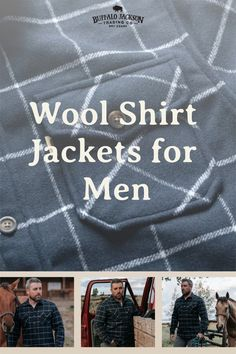 Our men's long sleeve button down shirt jacket is the perfect weight for brisk mornings or cool evenings. Dress it up with a blazer for that lunch meeting. Or, for casual style, outfit it with jeans and boots. Available in multiple colors, these wool blend shirt jackets make great gifts for guys | dads | men who have everything. #giftsforhim #mensfashion Great Gifts For Guys, Best Gifts For Men, Casual Professional, Men's Outerwear, Beautiful Sunrise, Wool Fabric, Pattern Blocks, The Conjuring, Shirt Jacket