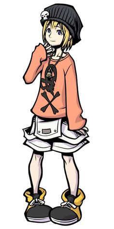 Rhyme from The world ends with you