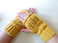 Mitones de Ganchillo - Crochet Mittens - Tutorial paso a paso - YouTube