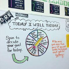 Today I will... tuesday