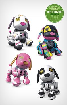 For your little animal lover: Will she like Zoomer Zuppies interactive puppy Scarlet, Roxy, Candy or Spot?