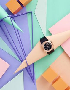 Bvlgari  watches  fashion  editorial  in  Dichan  magazine  Thailand  still  life  photography