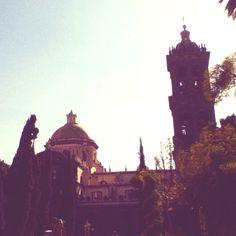 Catedral de Puebla es muy bonita y popular.