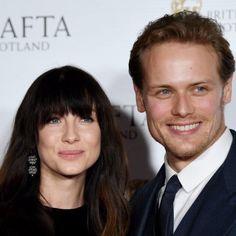 Caitriona Balfe and Sam Heughan at the BAFTA Academy Scotland Awards - November 5th, 2017