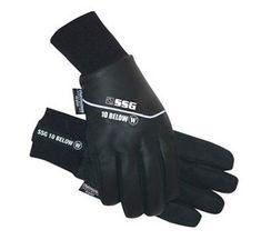 SSG 10 Below Waterproof Winter Riding Gloves 6400W  ALL Sizes