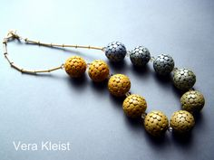 Rhea by beadingvera - Schmuck Ideen Gestaltung, via Flickr