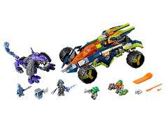 LEGO NEXO Knights Aaron's Rock Climber (70355)