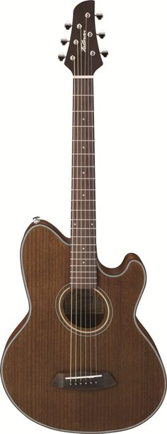 Ibanez TCY74 Acoustic Guitar: Our double-cutaway Talmans are perfect for the electric guitarist who wants to gain the full tones of an acoustic guitar without losing the comfort and playability of an electric.