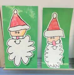 Ho! Ho! Ho! Santa directed drawing - first grade Christmas activity