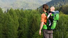 Best Baby Hiking Carriers: Our Top Picks in 2019 Hiking Baby Carrier, Baby Hiking, Best Baby Carrier, Hiking With Kids, Travel Workout, Traveling With Baby, Hiking Backpack, Baby Wearing, Outdoor Gear