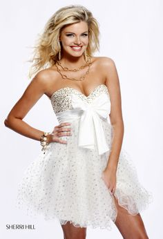 This was my prom dress in high school..can you say in love?