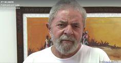 """""""Cometemos erros e quem comete erros paga"""", diz Lula em vídeo para o PT"""
