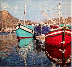 Reflections of Cape Town by Cynthia England