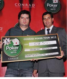 Osvaldo Resquin gana la penúltima fecha del Conrad Poker Tour