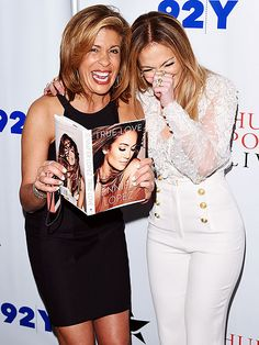 Star Tracks: Friday, November 7, 2014 | TRUE DAT | You said what?! NBC's Hoda Kotb and Jennifer Lopez get a major case of the giggles while leafing through the star's memoir True Love at a 92nd Street Y chat Thursday in N.Y.C.