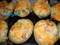 Patatas faciles rellenas