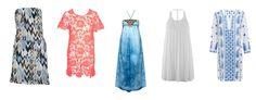 Strandkleider. Beach dresses trends 2016