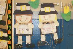 First Grade Blue Skies: Let's Make a Pilgrim...or an Elf!