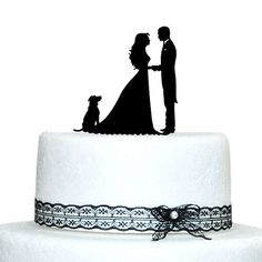 Buythrow Personalize Wedding Cake Topper Bride and Groom ...