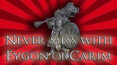 Never mess with Eygon of Carim - Dark Souls 3 Dark Souls 3, Discord, Never, Lion Sculpture, Banner, Statue, Banners, Sculpture, Picture Banner