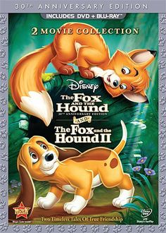 The Fox and the Hound  The Fox and the Hound Two ThreeDisc 30th Anniversary Edition Bluray  DVD Combo in DVD Packaging