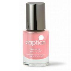 Paint your nails with Caption Perfect Not in My Vocab shade – Your everyday mauve with unexpected flecks of glossy baby pink.