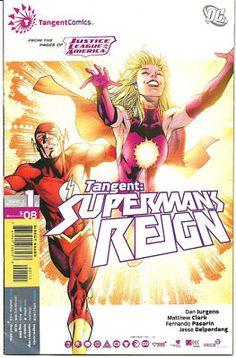 "SUPERMANS REIGN Great 12-part SERIES from DC's ""Tangent"" comics! ~NM~ http://r.ebay.com/VT00vz"