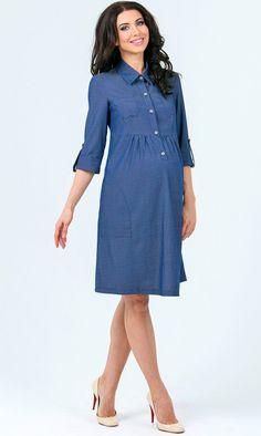 Платье для беременных и кормящих мам Uniostar 263.5216.34.01