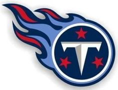 """Tennessee Titans 12"""""""" Right Logo Car Magnet"""