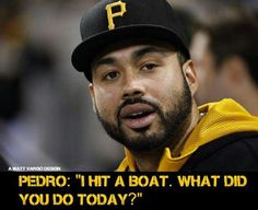 Pedro crushed it!