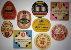 Mens Collections: Vintage Beer Mats and Bottle Tops Graphic Inspiration