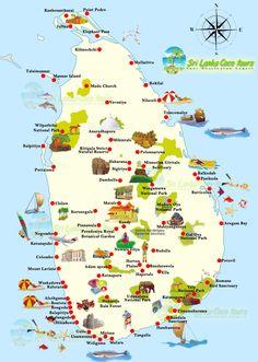 Srilanka_Touristmap