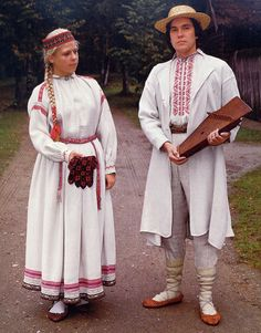 FolkCostume&Embroidery: Overview of the Folk Costumes of Europe, Latvia