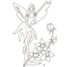 Dibujos para colorear HADAS Alas de Hada para imprimir  Hadas