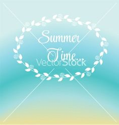 Summer holidays poster vector by yganko on VectorStock®